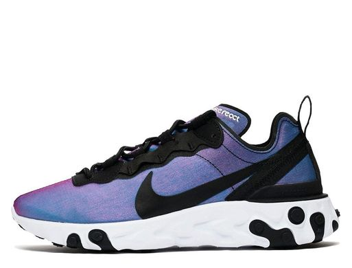 1fafc8c1 Кроссовки Nike React Element 55 Premium Su19 Blue Black (BQ9241-002), 41