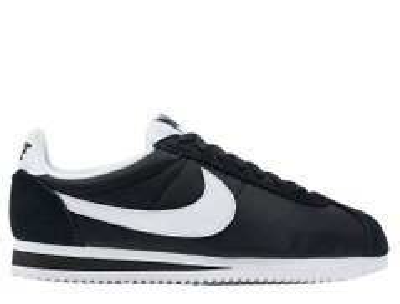 83ce18a7 Кроссовки Nike Classic Cortez Wmns Nylon Black White (749864-011), 41,