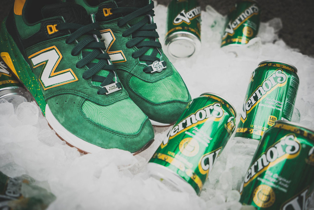 Коллаборация Burn Rubber x New Balance 572 [Vernors]