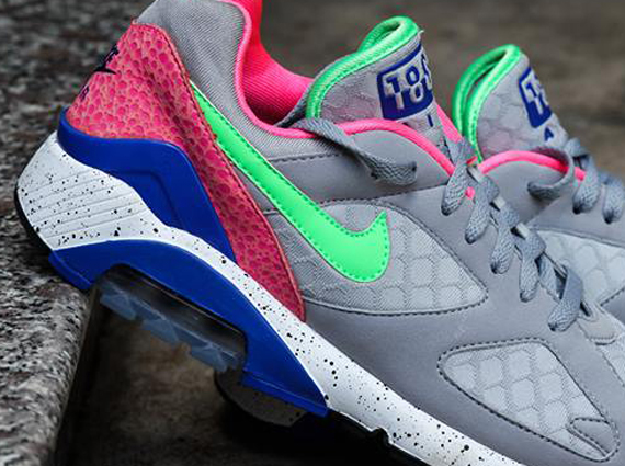 Кроссовки Nike Air 180 [Grey Blue Pink Safari].