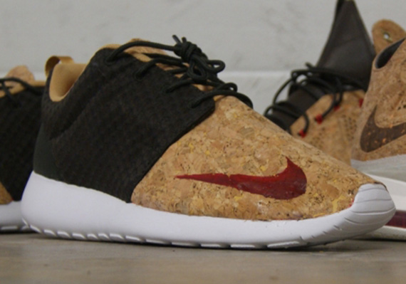 Кастомизация Nike Roshe Run FB [Cork] от AMAC Customs - блог Styles.ua