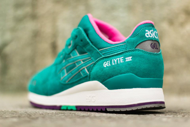 Кроссовки Asics Gel Lyte III [Tropical Green/Tropical Green] (Январь 2015)