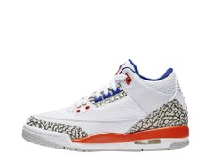 Кроссовки Air Jordan 3 Retro (GS) Knicks (398614-148), 40