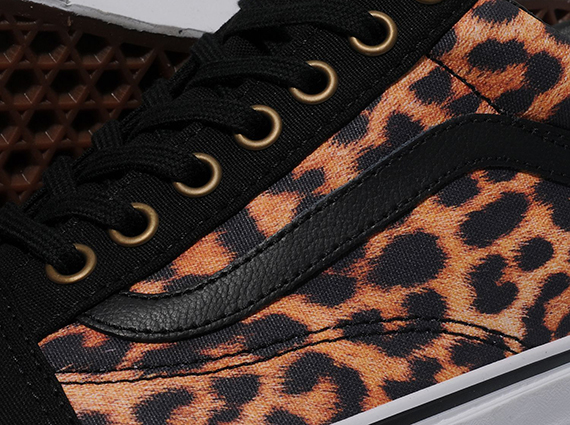 Кеды Vans Old Skool [Leopard].