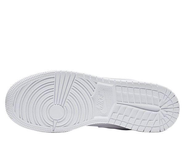 buy online 0dfde c59c9 ... Кроссовки Air Jordan 1 Low (GS) White (553560-101), 36