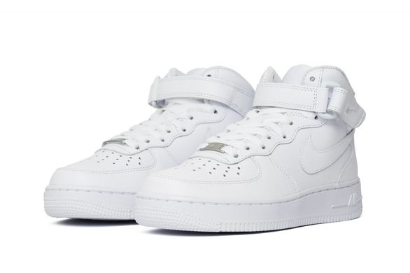 Кроссовки Nike Air Force 1 Wmns Mid White (366731-100), 36