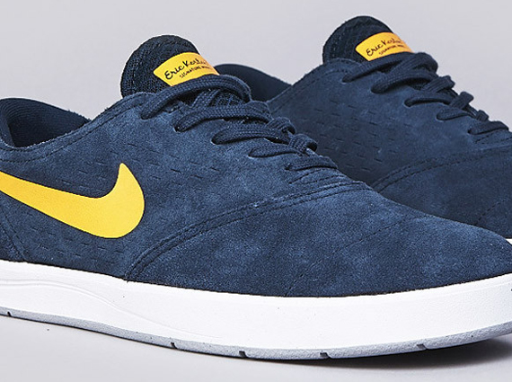 Кроссовки Nike Eric Koston 2 [Armory Navy Laser Orange]