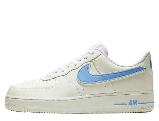 Кроссовки Nike Air Force 1 Low White University Blue (AO2423-100), 42.5, Nike Air Force 1