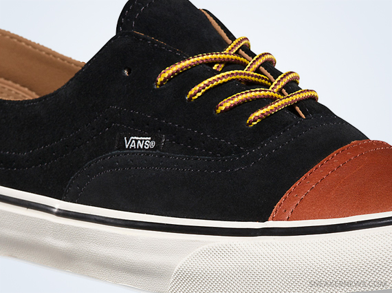 Кеды Vans California Era [Brogue Black Brown].