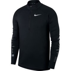 Лонгслив для бега Nike Dry Element Top Half Zip Black, Одежда для бега, M