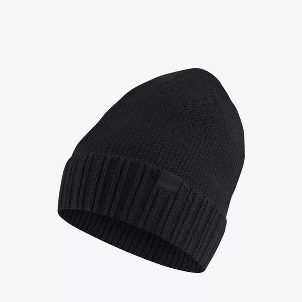 3187e98d Зимняя шапка Nike NSW Beanie Honeycomb (925417-010), One Size, Повседневные  ...