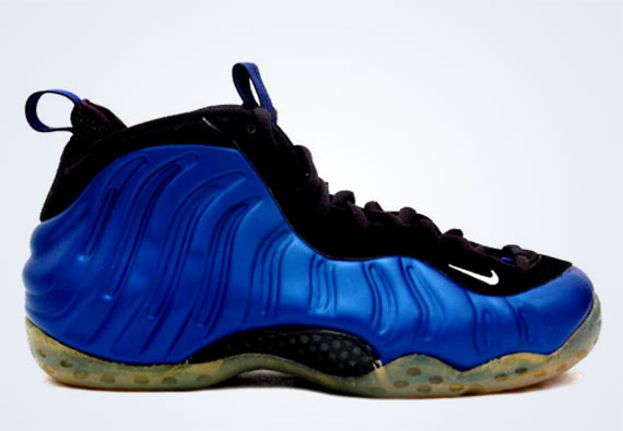 Кроссовки Nike Air Foamposite One Dark Neon Royal 1997