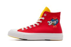Кеды Converse x GOLF WANG Chuck 70 High Top Red Yellow (169910C) - оригинал в Украине