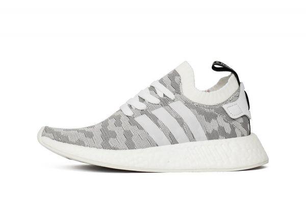 cc1ef2e5f1cd Кроссовки adidas NMD R2 Primeknit Women Footwear White Core Black (BY9520)