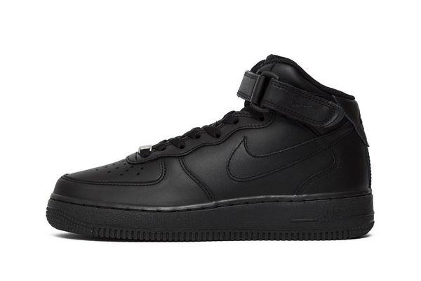d52c54a1 Кроссовки Nike Wmns Air Force1 Mid Black (366731-001), 35.5, Nike ...