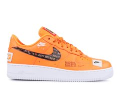 Кроссовки Nike Air Force 1 Low Premium JDI Orange (AR7719-800), 42.5, Nike Air Force 1