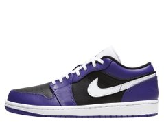 Кроссовки Air Jordan 1 Low Court Purple Black (553558-501) - оригинал в Украине