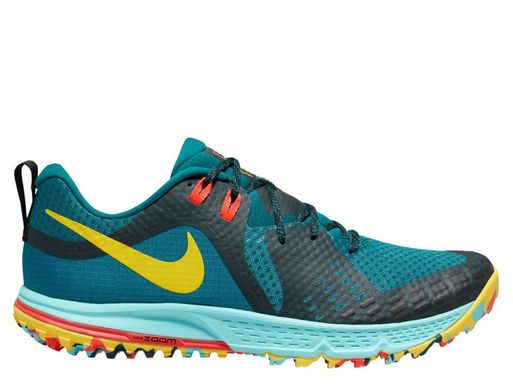 Кроссовки для бега Nike Air Zoom Wildhorse 5 Multicolour Turquoise (AQ2222-300), 42, Грунт