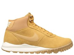 Зимние ботинки Nike Hoodland Suede Light Brown Metallic Gold (654888-727), 45.5