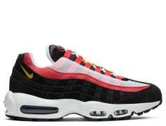 Кроссовки Nike Air Max 95 Essential Black Red (AT9865-101), 46, Nike Air Max