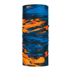 Buff Loom Multi Coolnet UV+ Neckwear Orange Blue, One Size, Для бега и тренировок