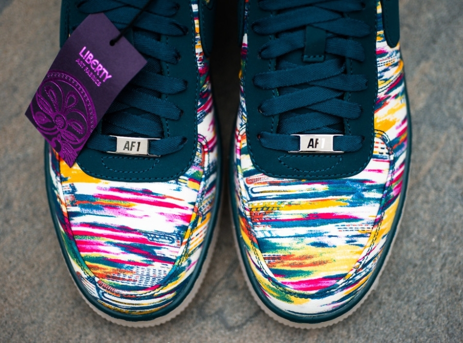 Дата релиза Liberty x Nike Air Force 1 Downtown