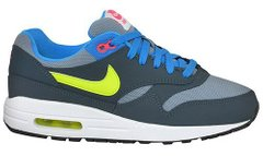 Nike Air Max 1 (GS) Magenta Grey (555766-015), 38.5, Nike Air Max