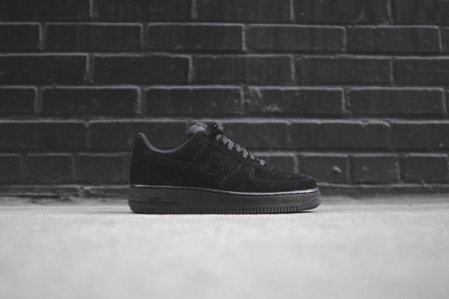 Кроссовки Nike Air Force 1 Low [Black/Black/Black]