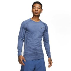 Футболка для бега Nike Pro Longsleeve Tight Blue (BV5588-451) - оригинал в Украине