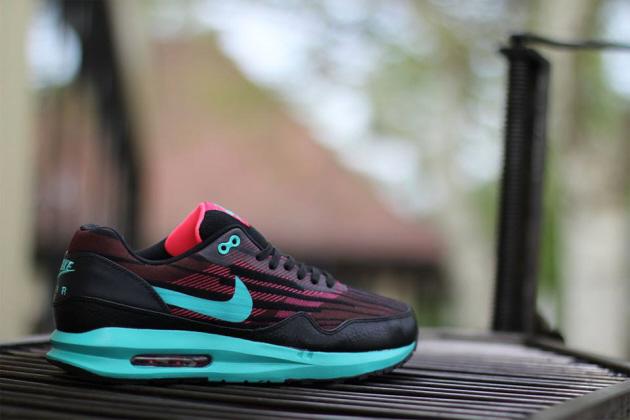 separation shoes c5a9c 43f01 Кроссовки Nike Air Max Lunar1 Jacquard  Cedar Hyper Jade Hyper Punch