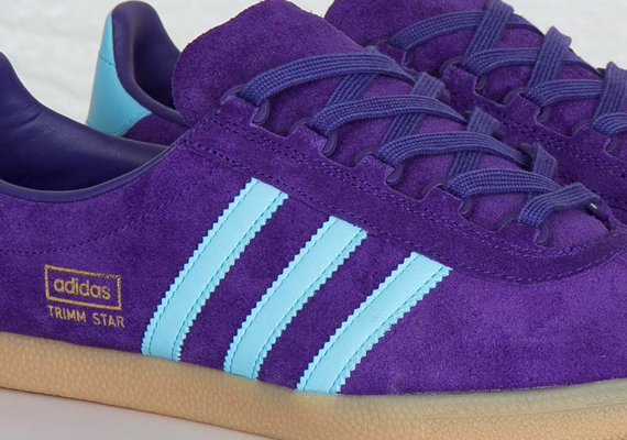 Кроссовки adidas Originals Trimm Star [Collegiate Purple Crystal Blue Gum]