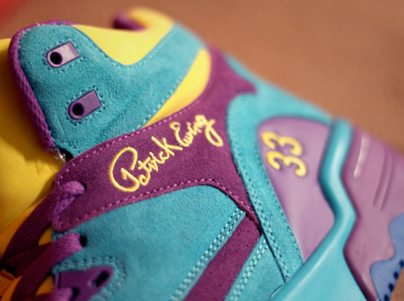 Кроссовки Ewing Guard [Sparkling Grape Scuba Blue Vibrant Yellow]