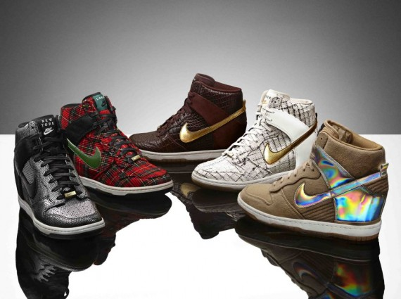 Набор Nike WMNS Dunk Sky High [City Pack]