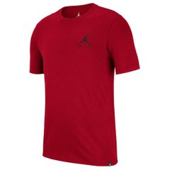 Футболка Jordan Jumpman Air Embroidered Tee Red (AH5296-687) - оригінал в Україні