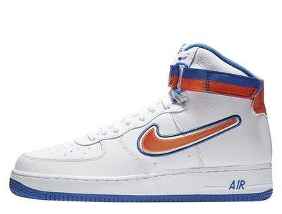 4588e5b0 Кроссовки Nike Air Force 1 Hi Sport Knicks (AV3938-100), 45.5,