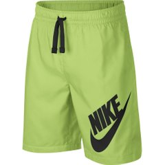Шорты Nike Sportswear W Short Yellow Black (923360-716) - оригинал в Украине