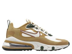 Кроссовки Nike Air Max 270 React Brown White (AO4971-700), 46, Nike Air Max