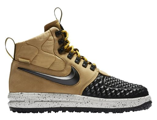 7ac11112 Кроссовки Nike Lunar Force 1 Duckboot Gold Black (916682-701), 44.5 ...