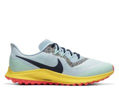 Кроссовки для бега Nike Air Zoom Pegasus 36 Trail Blue Yellow - оригинал в Украине