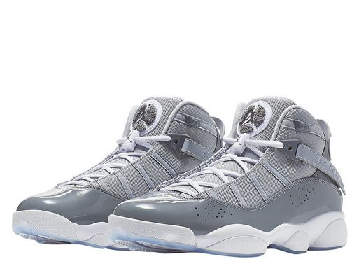 Кроссовки Air Jordan 6 Rings Cool Grey (322992-015) - оригинал в Украине