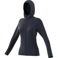 adidas TRACE ROCKER HOODED FLEECE Navy, Одежда для бега, 40
