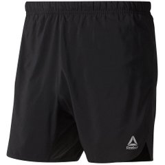 Reebok Run Essentials 5 Inch Shorts Black, Одежда для бега, XL