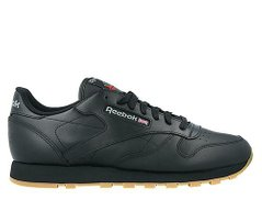 Кроссовки Reebok Classic Leather Black/Gum (49800), 39