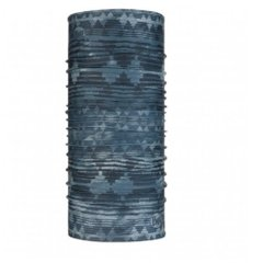 Buff Tzom Stone Coolnet UV+ Neckwear Blue Grey, One Size, Для бега и тренировок