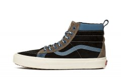 Кеды Vans Sk8-Hi MTE LX Black Brown Blue (VN0A4P3JTUN), 45