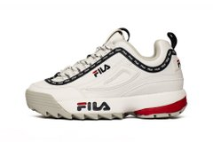 Кроссовки Fila Disruptor Logo Low White (1010748-1FG), 40