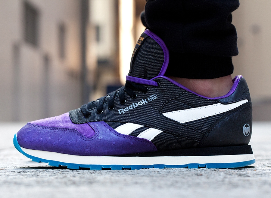 Коллабрация 3.V.O.7. x Reebok Classic Leather