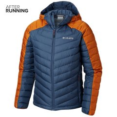 Куртка для бега Columbia Horizon Explorer Hooded Jacket Orange Grey, Одежда для бега, L