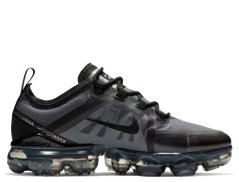 Кроссовки Nike Air VaporMax 2019 (GS) Gray Black(AJ2616-001), 40, Nike Air Vapormax