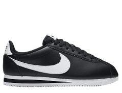 76909070 Кроссовки Nike Wmns Classic Cortez Leather Black (807471-010), 40, Nike
